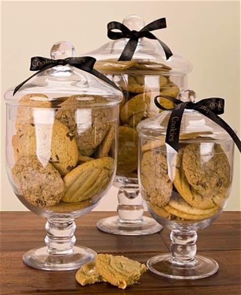apothecary jar  cookies chocolate sweet baskets