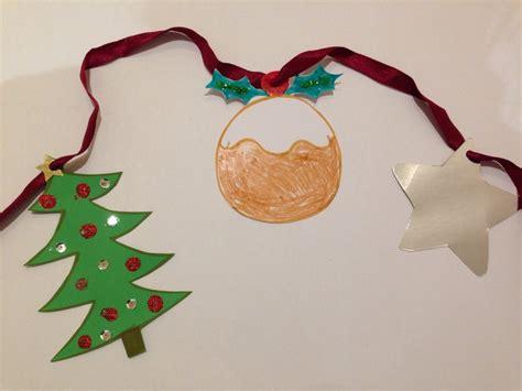 christmas bunting  kid craft