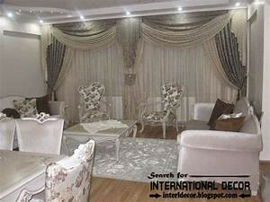 contemporary grey curtain designs for living room 2015 With designer curtains for living room