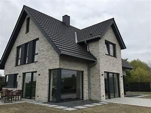 Hausfassade Weiß Anthrazit : verblender klinker verblender k410 nf klinker fassade grau weiss nuanciert klinker ~ Markanthonyermac.com Haus und Dekorationen