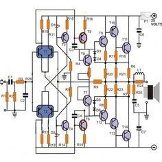 Subwoofer Amplifier Output With Transistor Audio