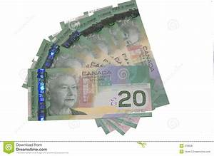 Canadian $20 bills stock photo. Image of finance, commerce ...