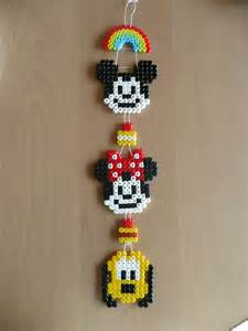 minnie mouse earrings まいにちayuびより 2 アイロンビーズ