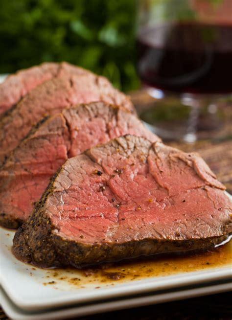 Quick dinner ideas, nutrition tips, and fresh. Roast Beef Tenderloin with Cognac Dijon Sauce   A ...