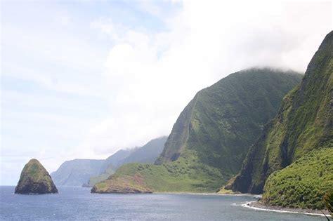 molokai island  site    leper colony draws