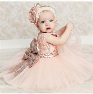 baby girls clothes flower girls wedding dresses pink With baby wedding dress