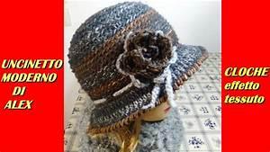 Cappello Effetto Tessuto All U0026 39 Uncinetto Tutorial