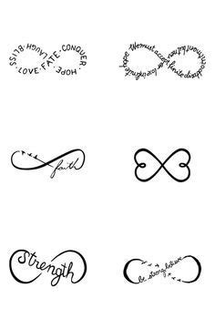 Image result for cute small tattoos with meaning | Infinity tattoos, Tattoos, Small girl tattoos