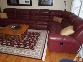 Lazy Boy Leather Sectional Sofa