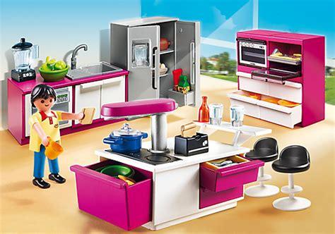 playmobil cuisine playmobil city cuisine avec îlot petit à petit