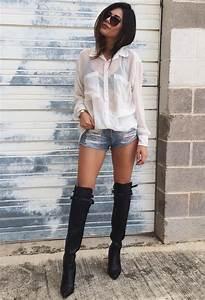 How to Wear Over-the-Knee u0026 Long Boots 2018 | FashionTasty.com