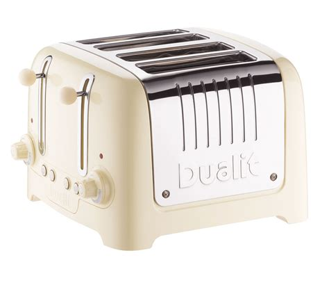 dualit 4 slice toaster buy dualit dl4c 4 slice toaster free delivery