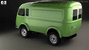Goelette Renault : renault goelette 1400 kg 1949 by 3d model store youtube ~ Gottalentnigeria.com Avis de Voitures
