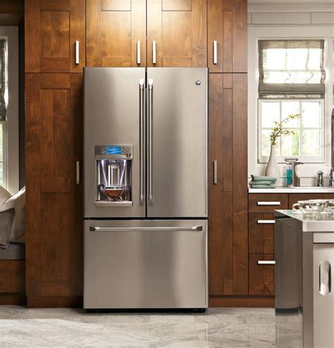 refrigerator cabinet depth ge cye22tshss 36 inch counter depth door