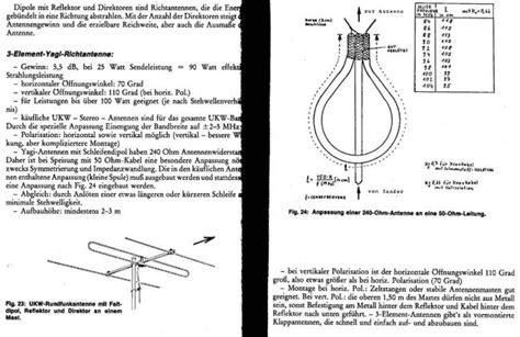 ukw piratensender antennen zum nachbauen