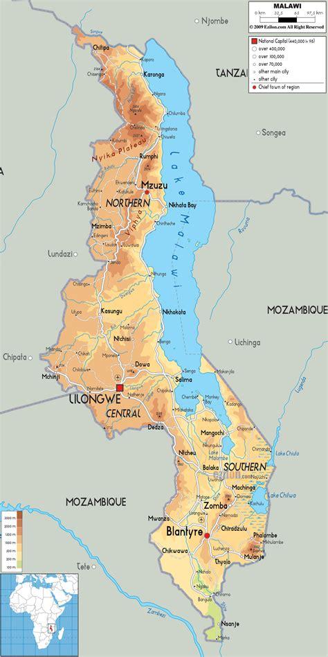 malawi bergen karte