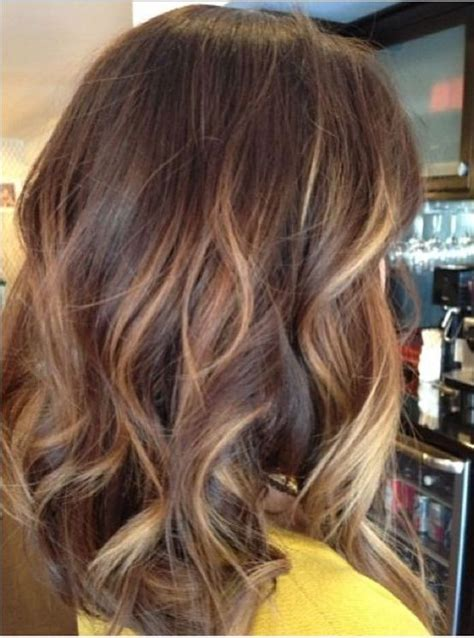 Hairstyles Brown With Highlights by Golden Brown Hair Color Ideas For Medium Length Hairstyles
