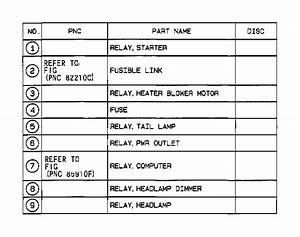 Toyota Tacoma Headlight Relay  Relay  Cooler  No 3  Relay