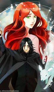 Snily - Severus Snape & Lily Evans Fan Art (36076687) - Fanpop