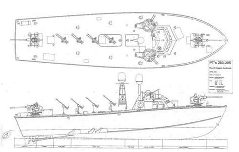 Pt Boat Line Drawings by Pt Boat World More Pt Boat Photos Informatoin