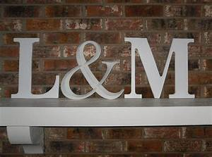 1000 images about mantle wedding decor on pinterest With mantle letters