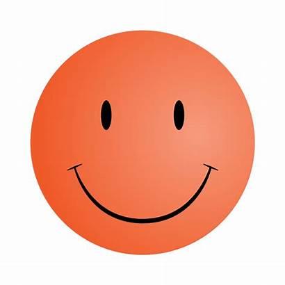 Smiley Face Faces Clipart Smile Orange Printable