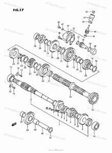 Suzuki Atv 1991 Oem Parts Diagram For Transmission 1