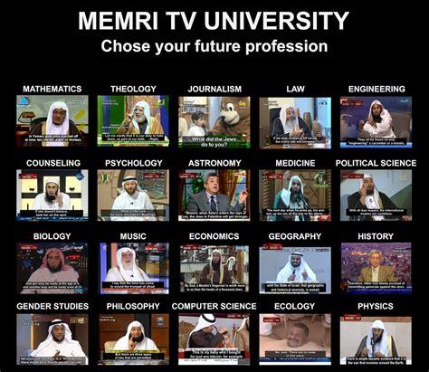 Memri Memes - memri tv university 2018 memri tv know your meme