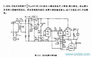 555 Safe Iron Frame Circuit - Control Circuit