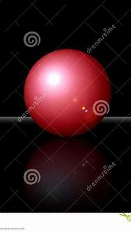 3D Red Ball With Clipping Patch Stock Illustration ...