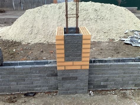 brick fences  endless   protect  home brick