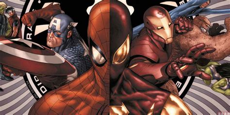 captain america civil war rumor   spider man fight