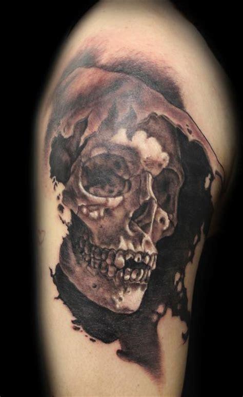 powerline tattoo tattoos skull  reaper