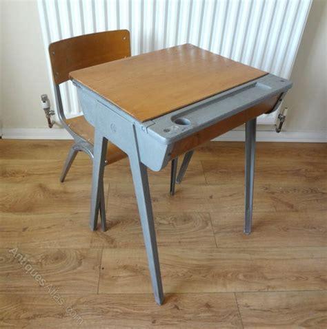 Antiques Atlas  Childs School Desk & Chair