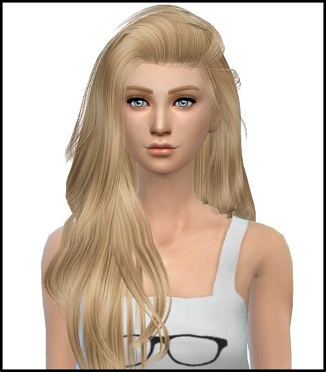 sims  hairs simista raonjena  hairstyle retextured
