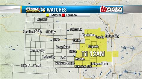 Severe Storm Watch Til 12am Cdt For Parts