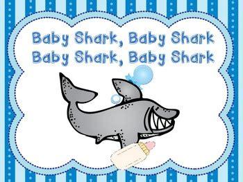 baby shark song book  shari sloane teachers pay teachers