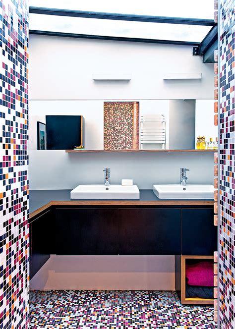 salle de bain originale salle de bain multicolore une d 233 co de salle de bain originale
