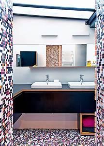 Salle De Bain Originale : salle de bain multicolore une d co de salle de bain originale marie claire ~ Preciouscoupons.com Idées de Décoration