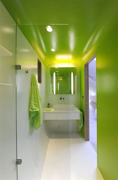 stylish  refreshing lime bathrooms   fascinate