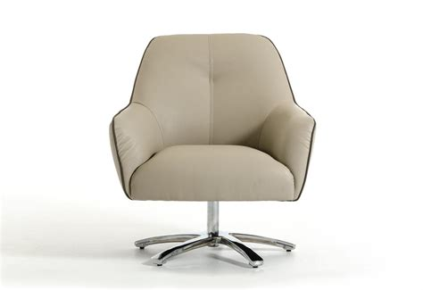 contemporary light grey and grey eco leather lounge chair portland oregon vclo