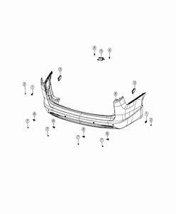 Chrysler Pacifica Module  Blind Spot Detection   Rear