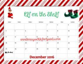 on the shelf template free printable on the shelf planning calendar idea checklist honeysuckle footprints