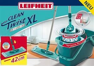 Leifheit Clean Twist System : leifheit leifheit 52015 set clean twist system evo xl 42 cm ebay ~ Frokenaadalensverden.com Haus und Dekorationen