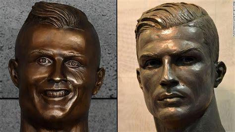 cristiano ronaldo finally  realistic statue cnn