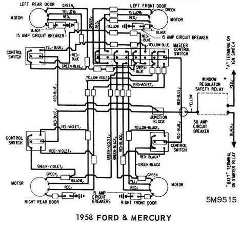 1958 ford ranchero headlight switch wiring diagram auto