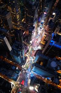 New York City Times Square Aerial