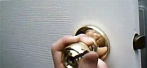 how to open locked door how to open a bedroom or bathroom door when you re locked