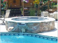 Spool Spa Pool With Nice Spool Combination Pool And Spa