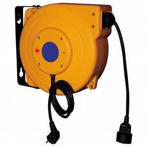 Enrouleur De Cable Electrique : enrouleur d rouleur rallonge comparez les prix pour ~ Edinachiropracticcenter.com Idées de Décoration